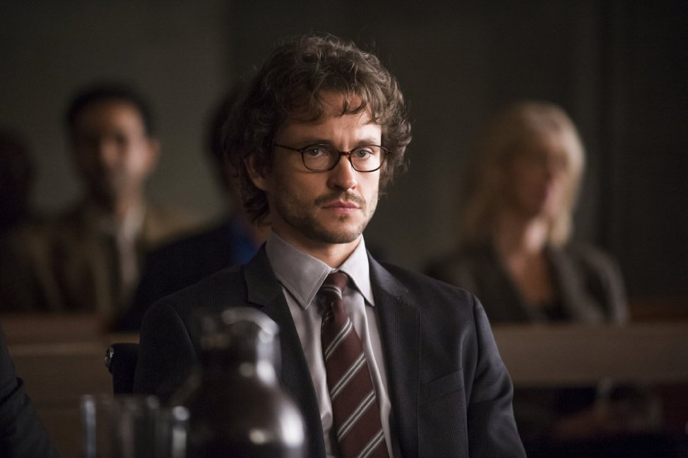 "Hugh Dancy w ""Hannibalu"", 2013."