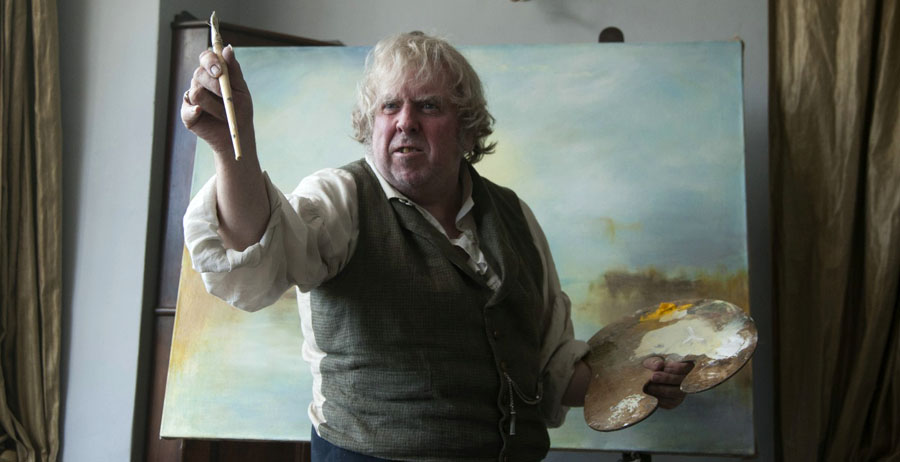 "Kadr zfilmu ""Pan Turner"", reż. Mike Leigh, 2014."