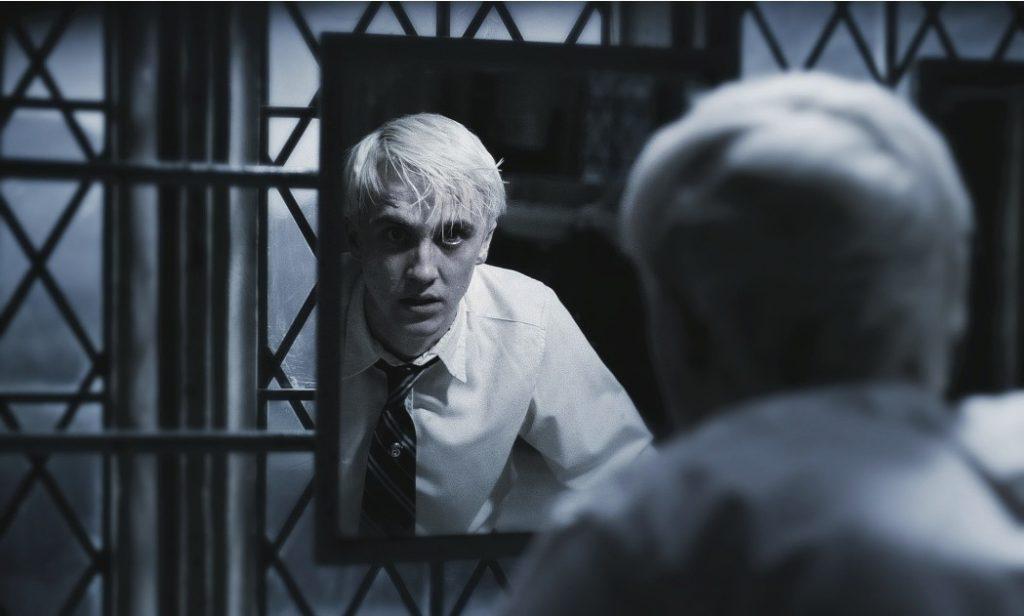 """Kadr zfilmu """"Harry Potter iKsiążę Półkrwi"""", reż. David Yates, 2009."""