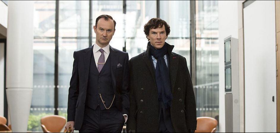 """Rodzeństwo Holmesów (prawie) wkomplecie, """"Sherlock"""", 2017."""