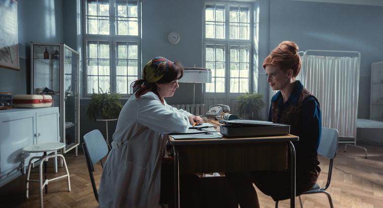 "Kadr zfilmu ""Sztuka kochania. Historia Michaliny Wisłockiej"", reż. M. Sadowska, 2017."