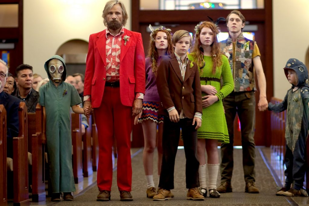 "Kadr zfilmu ""Captain Fantastic"", reż. Matt Ross, 2016."