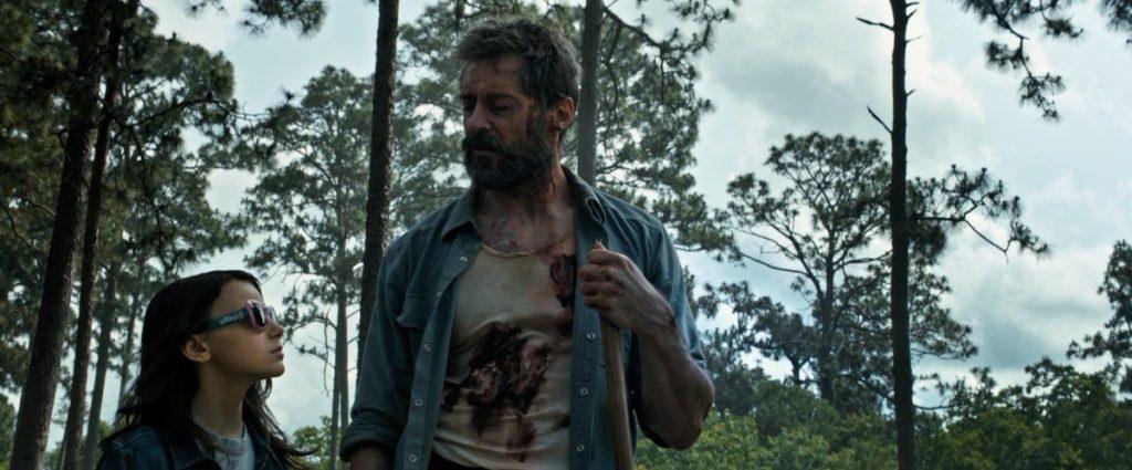"Kadr zfilmu ""Logan"", reż. James Mangold, 2017."