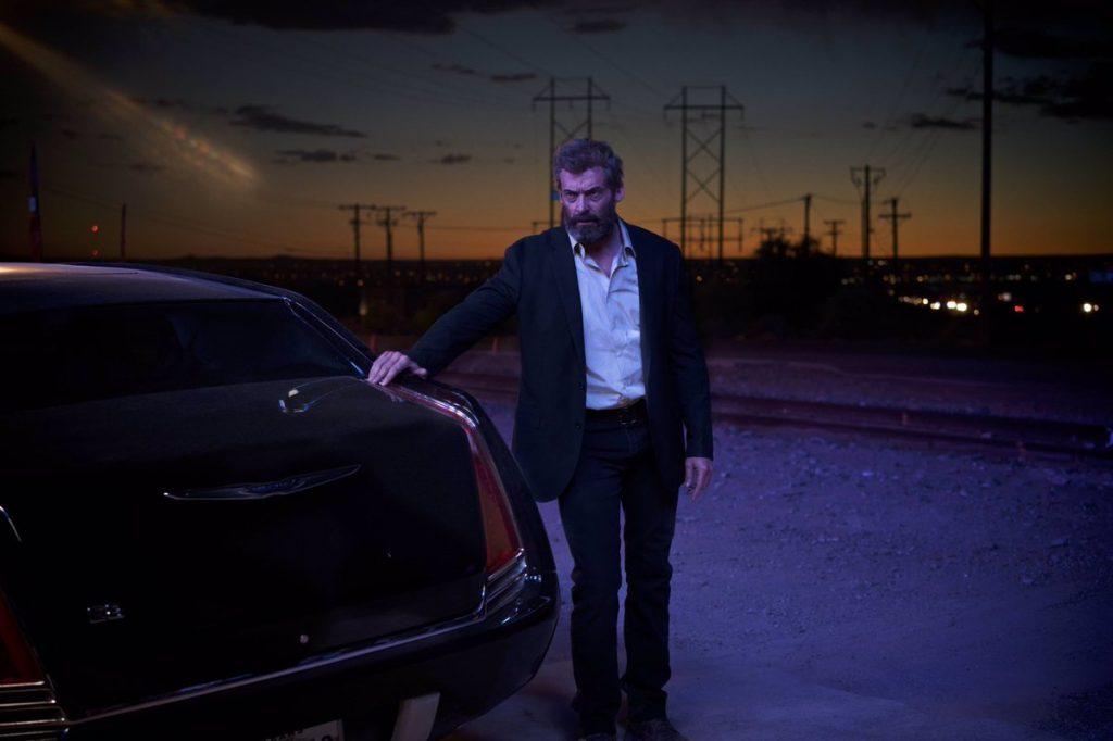"""Czy tonie są ładne zdjęcia? Kadr zfilmu """"Logan"""", reż. James Mangold, 2017."""