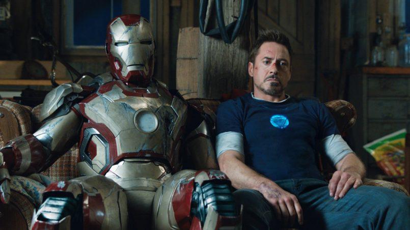 Kadr z filmu Iron Man 3, reż. Shane Black, 2013.