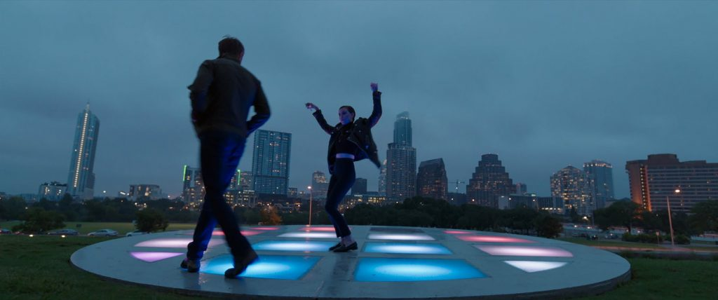 Kadr z filmu Song to song, reż. Terrence Malick, 2017.