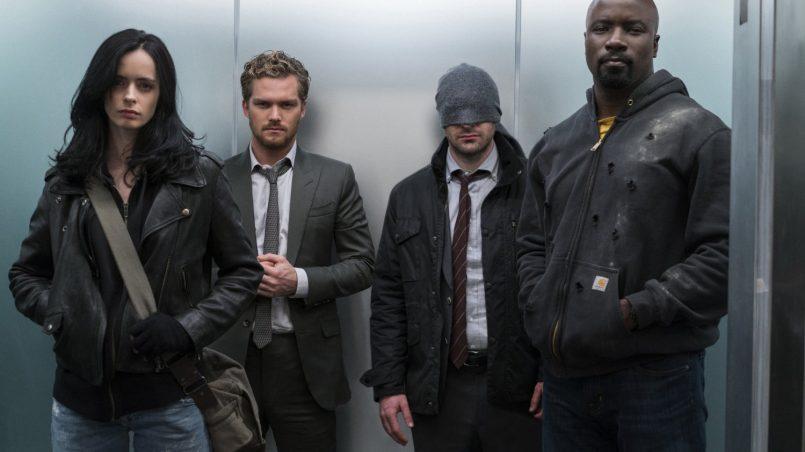 Kadr z serialu Defenders, 2017.