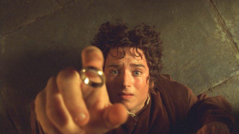 Kadr z filmu Władca Pierścieni: Drużyna Pierścienia, reż. Peter Jackson, 2001.