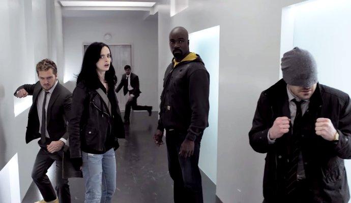 Kadr zserialu <em>Defenders</em>, 2017.