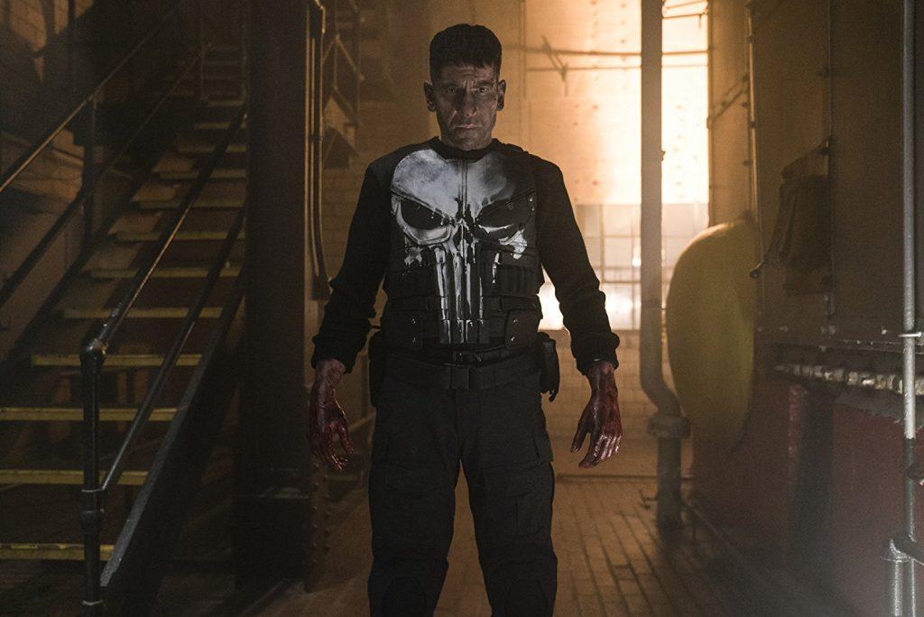 Kadr zserialu Punisher, 2017.