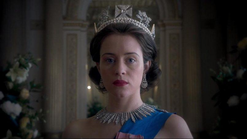 Kadr z serialu The Crown, 2017.