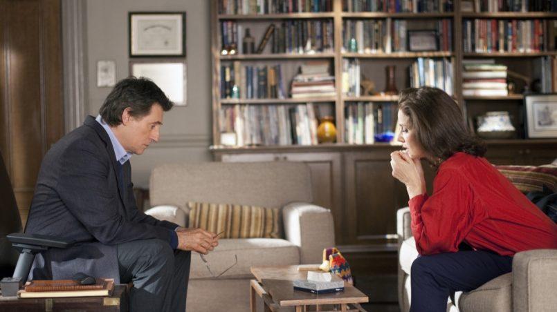 Kadr z serialu Terapia, 2010.