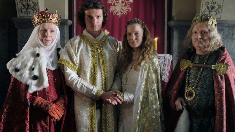 Kadr z serialu Korona Królów, 2017.