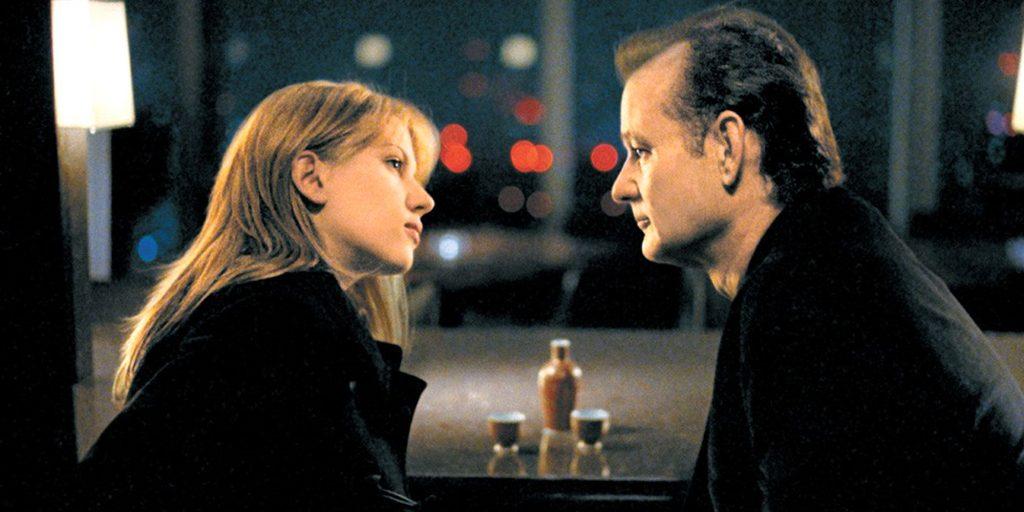 Kadr zfilmu <em>Między słowami</em>, reż. Sofia Coppola, 2003.