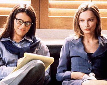Kadr zserialu <em>Ally McBeal</em>, 1997.