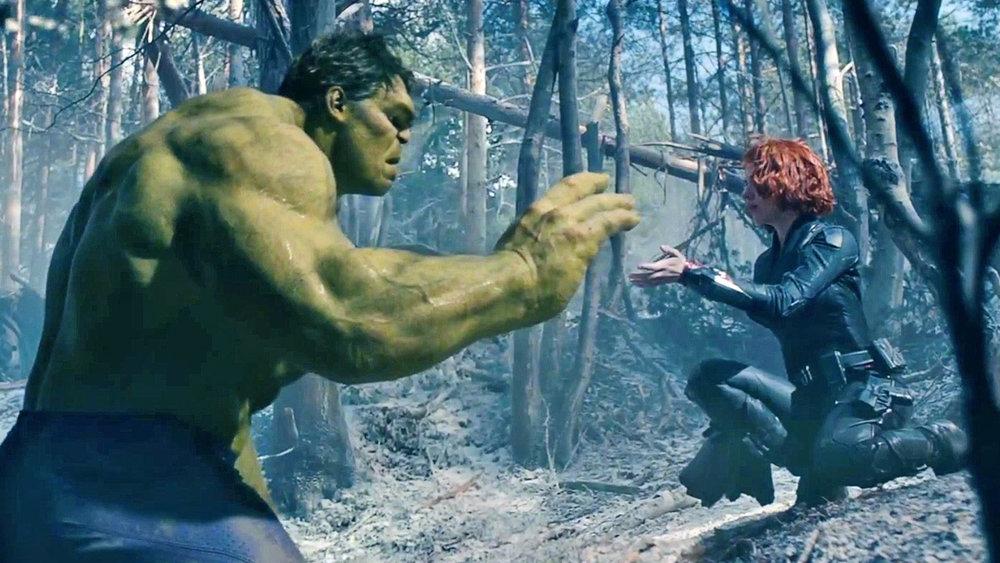 Kadr zfilmu <em>Avengers: Czas Ultrona</em>, reż. Joss Whedon, 2015.