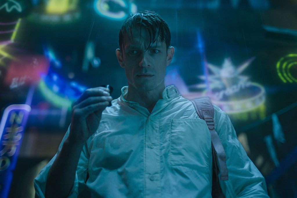 Kadr z serialu Altered Carbon, 2018.