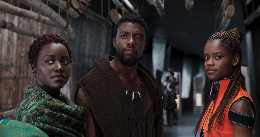 Kadr zfilmu Black Panther, reż. Ryan Coogler, 2018.