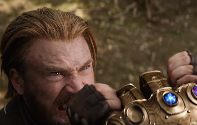 Kadr z<em>Avengers: Infinity War</em>, reż. A. iJ. Russo, 2018.