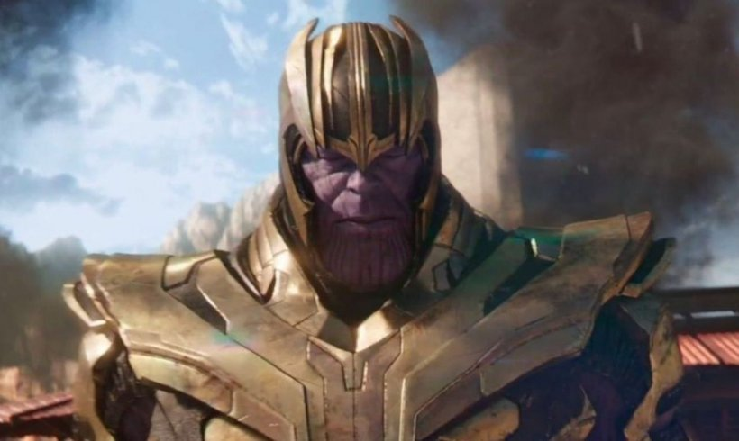 Thanos. Kadr ztrailera Avengers: Infinity War, 2018.