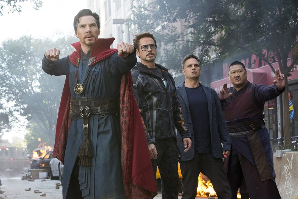 Kadr zfilmu <em>Avengers: Infinity War</em>, reż. Anthony iJoe Russo, 2018.