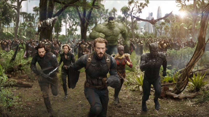 Kadr z filmu Avengers: Infinity War, reż. Anthony i Joe Russo, 2018.