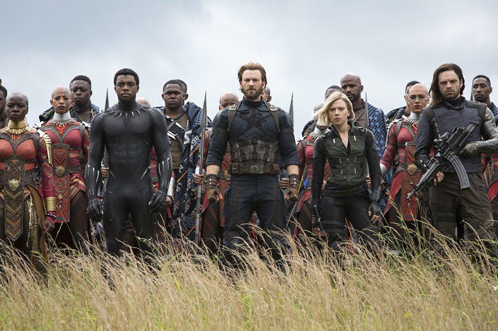 Kadr zfilmu Avengers: Infinity War, reż. Anthony iJoe Russo, 2018.