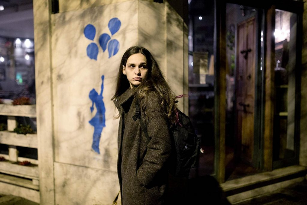 Kadr zfilmu Aworldly girl, reż. Marco Danielli, 2016.