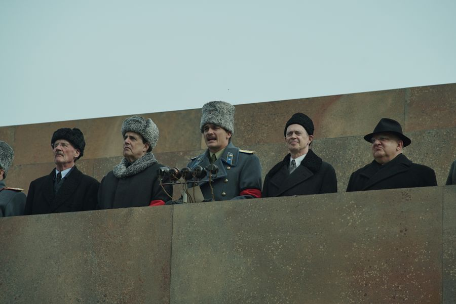 Kadr zfilmu Śmierć Stalina, reż. Armando Iannucci, 2017.