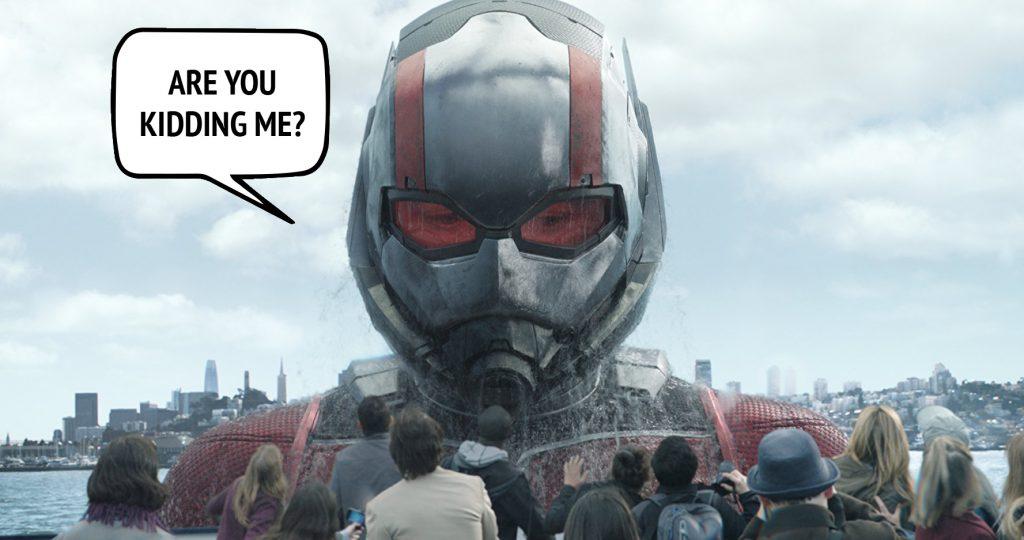Kadr zfilmu Ant-Man iOsa, reż. Peyton Reed, 2018.