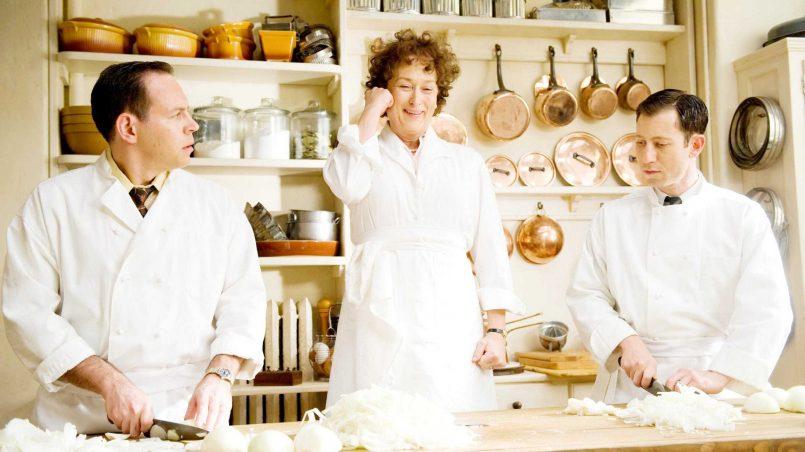 Kadr z filmu Julie i Julia, reż. Nora Ephron, 2009