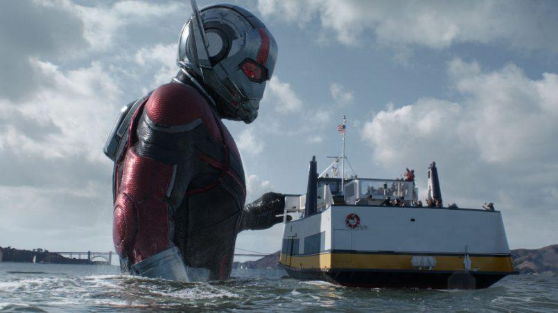Kadr z filmu Ant-Man i Osa, reż. Peyton Reed, 2018.