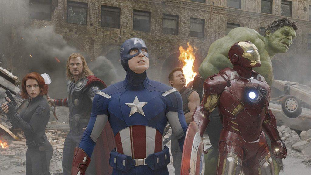 Kadr z<em>Avengers</em>, reż. J. Whedon, 2012.