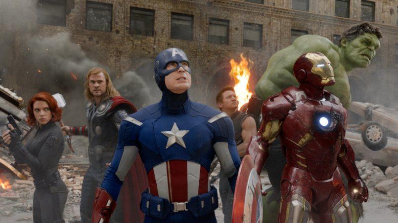 Kadr z Avengers, reż. J. Whedon, 2012.