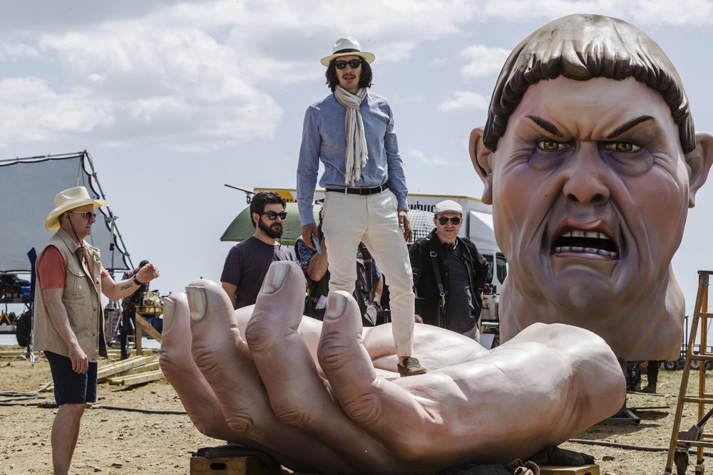 Kadr zfilmu <em>Człowiek, któryzabił Don Kichota</em>, reż. Terry Gilliam, 2018.