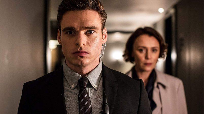 Kadr z serialu Bodyguard, 2018.