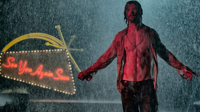 Kadr z filmu Bad Times at El Royale, reż. Drew Goddard, 2018.