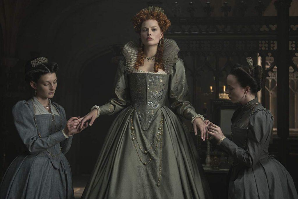 Kadr zfilmu <em>Maria, królowa Szkotów</em>, reż. Josie Rourke, 2018.