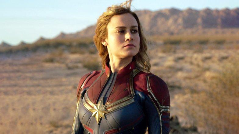 Kadr zfilm Kapitan Marvel, reż. Anna Boden iRyan Fleck, 2019.