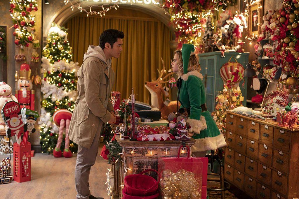 Kadr zfilmu <em>Last Christmas</em>, reż. Paul Feig, 2019.