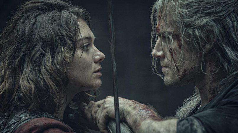 Kadr z serialu Wiedźmin, 2019.