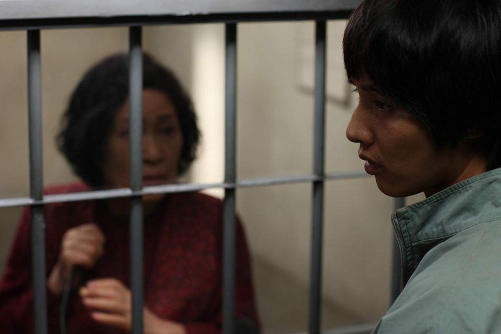 Kadr zfilmu <em>Matka</em>, reż. Bong Joon-ho, 2009.