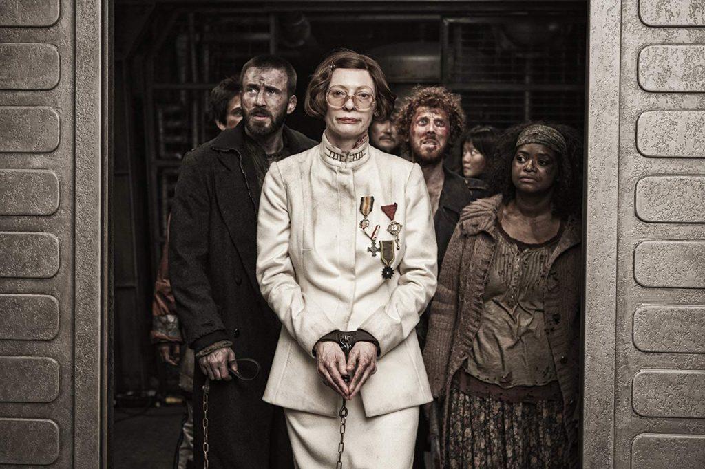 Kadr zfilmu <em>Snowpiercer: Arka przyszłości</em>, reż. Bong Joon-ho, 2013.