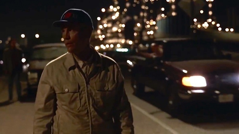 Kadr zfilmu <em>Być jak John Malkovich</em>, reż. Spike Jonze, 1999.