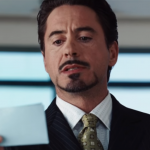 Kadr z filmu Iron Man, reż. Jon Favreau, 2008.