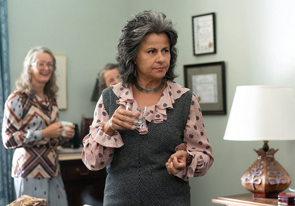 Kadr zserialu Mrs. America, 2020.