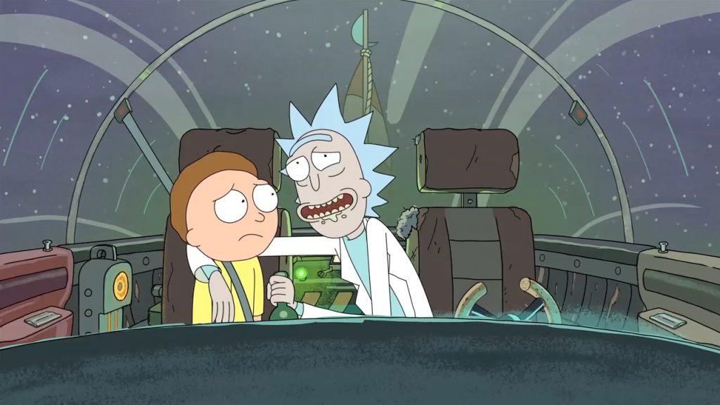 Kadr zserialu <em>Rick iMorty</em>, 2013.