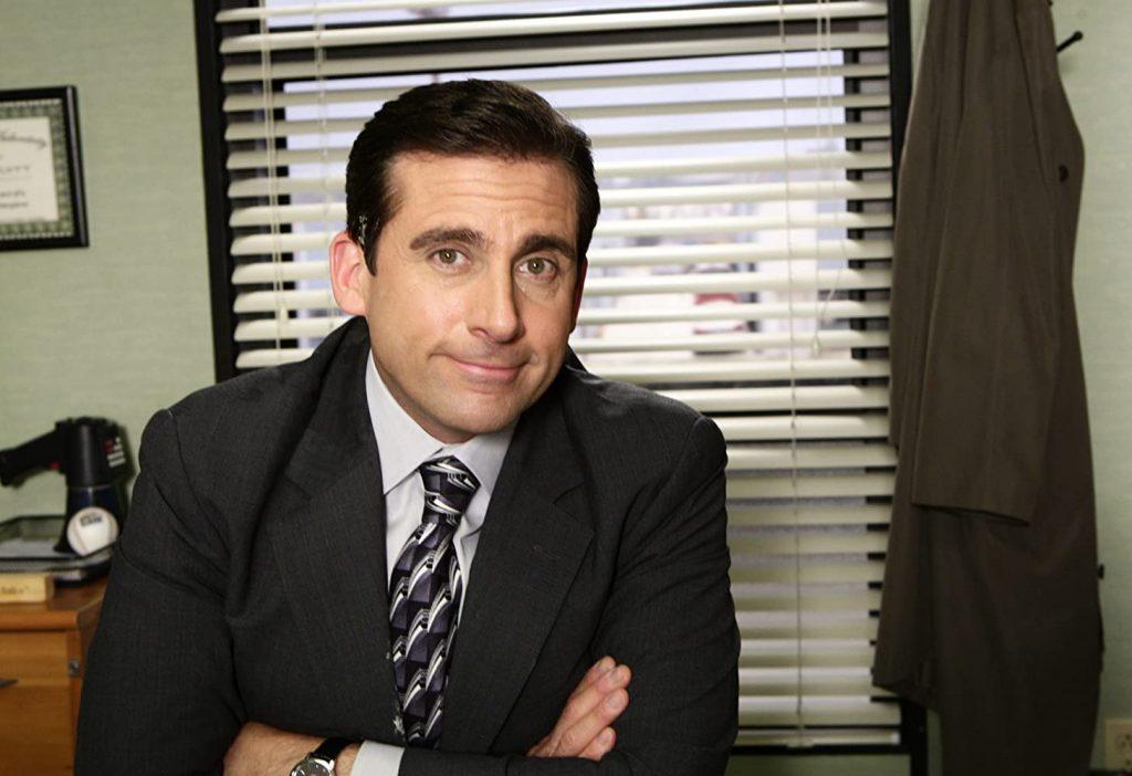 Kadr zserialu <em>The Office</em>.