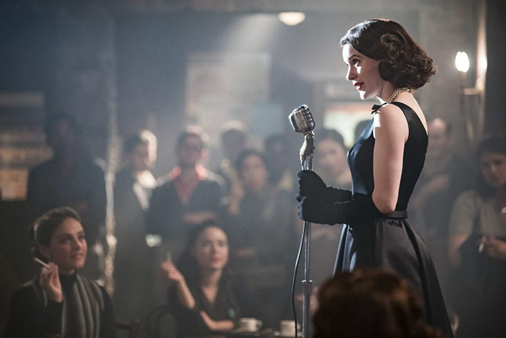 Kadr z serialu <em>The Marvelous Mrs. Maisel</em>, 2017.
