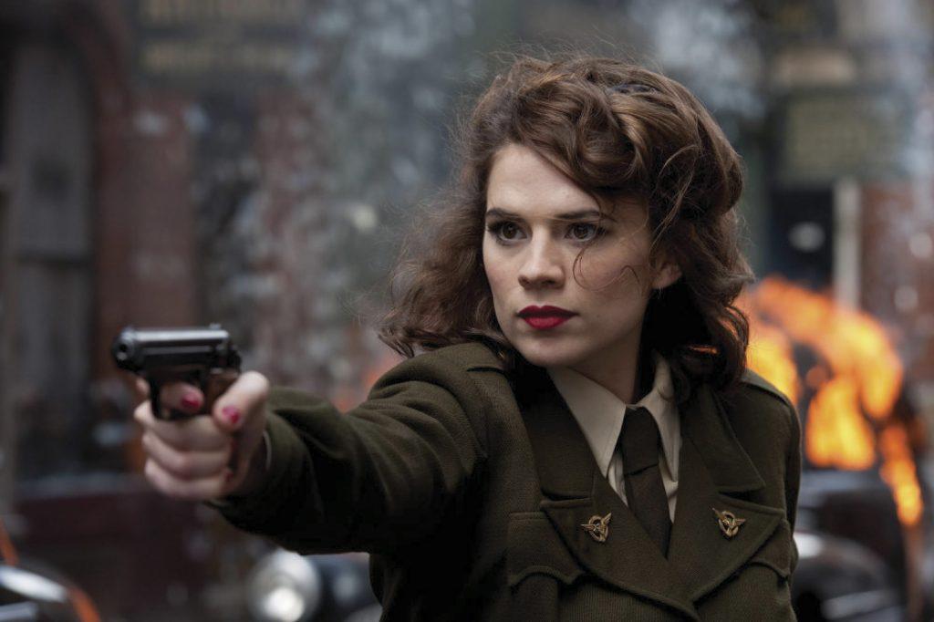 Kadr zserialu <em>Agentka Carter</em>, 2015.